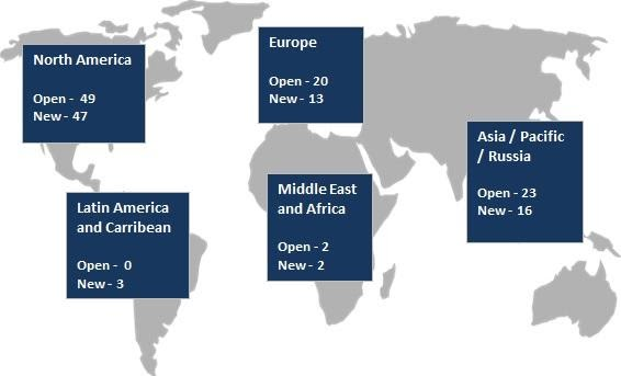 2017 5 6 CEO open roles geographical map