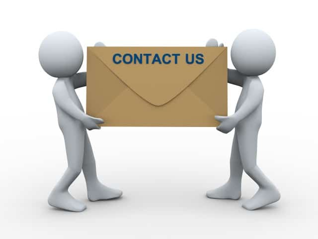 contact us cartoon